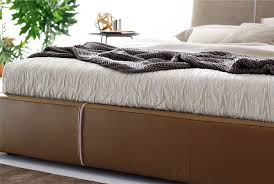 Collection Of Iko Bed By Flou The Manufactures Used A Stylish Combination Steel Brass Marble And Leather To Achieve Unique Bedroom Decor