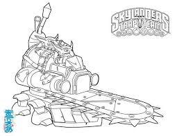 Skylanders Trap Team Coloring Page