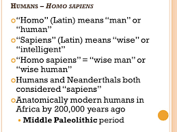 the earliest humans student handouts inc ppt