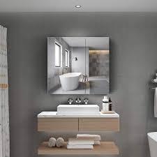 möbel tokvon alameda 65x60cm spiegelschrank led badezimmer