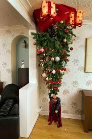 30 Beautiful Upside Down Christmas Tree Ideas