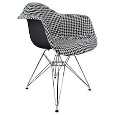 Houndstooth Pattern Woven Fabric Upholstered Black Eames Style Accent Arm  Chair Ward Bennett Bumper Office Chair In Houndstooth Brickel Associates Mesh Chairs House Decor Ocjylmb Wlbk Lombardi Midcentury Modern Adjustable With Swivel Walnut And Black By Lumisource Parlour Scotty Upholstered Accent Multiple Colors Patterened Traditional 39 Recliner Poppy Mathis Kardiel Amoeba Ottoman Azure Twill Seymour Designed Charles Wilson For King Living Copper Grove Boulogne Classic Swoop Ebony Fabric Upholstery Medium Opal Batik Capisco Ergonomic Saddle Seat Standing Desk Height Puls Base University Of Alabama Elite