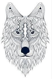 Wolf Spirit AnimalColoring BooksWolves