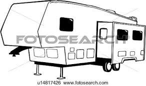 Clipart Camper Recreation