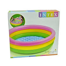buy intex inflatable baby pool bath water tub for kids online at
