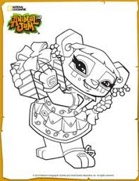 Animal Jam Phantom Fortress Coloring Page