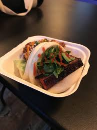 OC] Delicious Pork Belly Steamed Bao Bun From La Bao Food Truck In ...