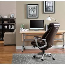 Serta Executive Chair Manual by Serta Wellness By Design Black Bonded Leather Mid Back Office