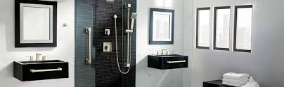 Moen 90 Degree Faucet by Shop Moen 90 Degree Chrome 2 Handle Widespread Watersense Bathroom