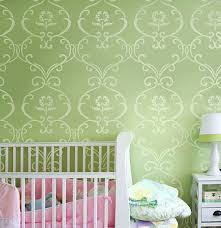 Stencil Patterns Nursery Designs Reusable For
