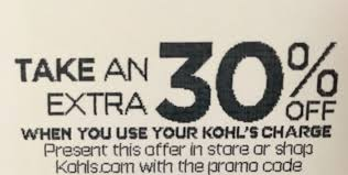 KOHL'S Kohls Store 30% OFF Instore Promo Code Discount ... Kohls 30 Off Coupon Code With Charge Card Plus Free New Years Sale October 2018 Store Deals For 10 Nov 2019 Pin On Picoupons Coupons Iphone Melbourne Accommodation Calamo Saving Is Virtue 16 Off On Average Using Coupons Codes Promo Maximum 50 Natasha Denona Sunset Palette Code From Allure Green Monday Cash Save Up To Of Your Entire Purchase Printable 40 Farmland Bacon Coupon Most Valued Customer Shipping No Minimum