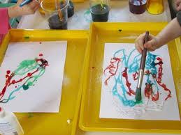 Salty Science And Art For Preschoolers Teach Preschool