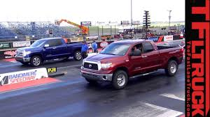Drag Race: How Fast Is A Supercharged Toyota Tundra? (Video) - The ... Chevrolet 454 Ss Muscle Truck Pioneer Is Your Cheap Forgotten Faster Than A Corvette Gmcs Syclone Sport Truck Ce Hemmings Daily Pick Em Up The 51 Coolest Trucks Of All Time Feature Car And Worlds Faest Amphibious Vehicle Goes 60mph On Water Get Jeep Says The Grand Cherokee Trackhawk Is Suv Ever Sloppy Mechanics Make 1076 Horsepower With Stock Bottom End Lq4 800horsepower Yenkosc Silverado Performance Pickup Twelve Every Guy Needs To Own In Their Lifetime 750 Hp Shelby F150 Super Snake Murica Form Budget Diesel Mods 67l Power Stroke Drivgline Nascar Twitter Recap Grantenfinger In