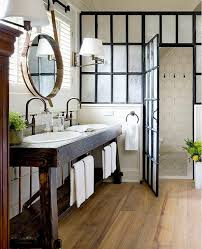 industrial style bathroom furniture ideas wood vanity counter