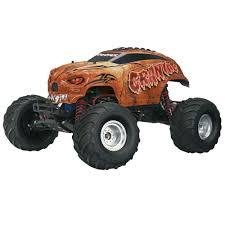 100 Traxxas Trucks TRA360941BRN 110 Craniac 2WD Monster Truck 4A Charger