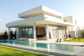 100 Photos Of Pool Houses Swimming Architecture With White