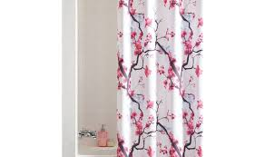 curtains pink ruffle shower curtain appearance and function