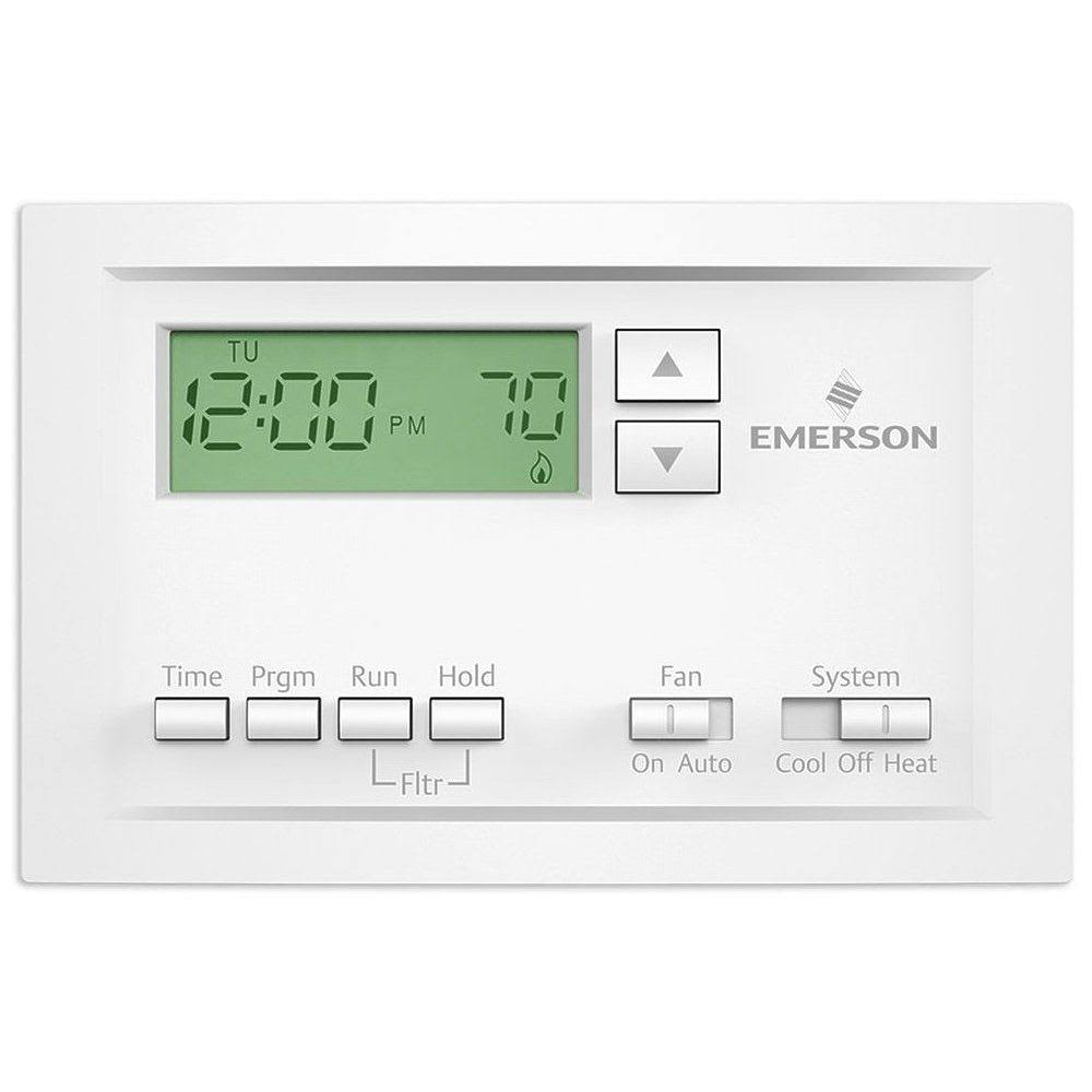 Emerson P210 5 1 1 Day Programmable Thermostat