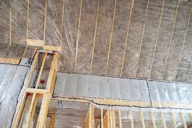 Insulating Cathedral Ceiling With Roxul by Insulation Services