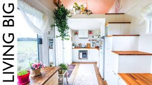 100 Dream Houses Inside Womans Tiny House Even Has A WalkIn Wardrobe YouTube