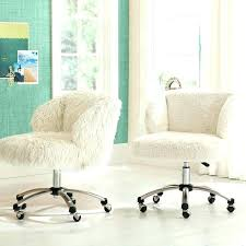 White Fuzzy Chair Furry Desk Attractive Chairs For Desks Pink Keywords