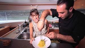 chef à bord spaghetti aux palourdes