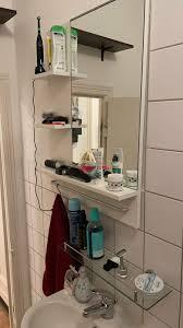 ikea spiegel mit ablage fürs bad