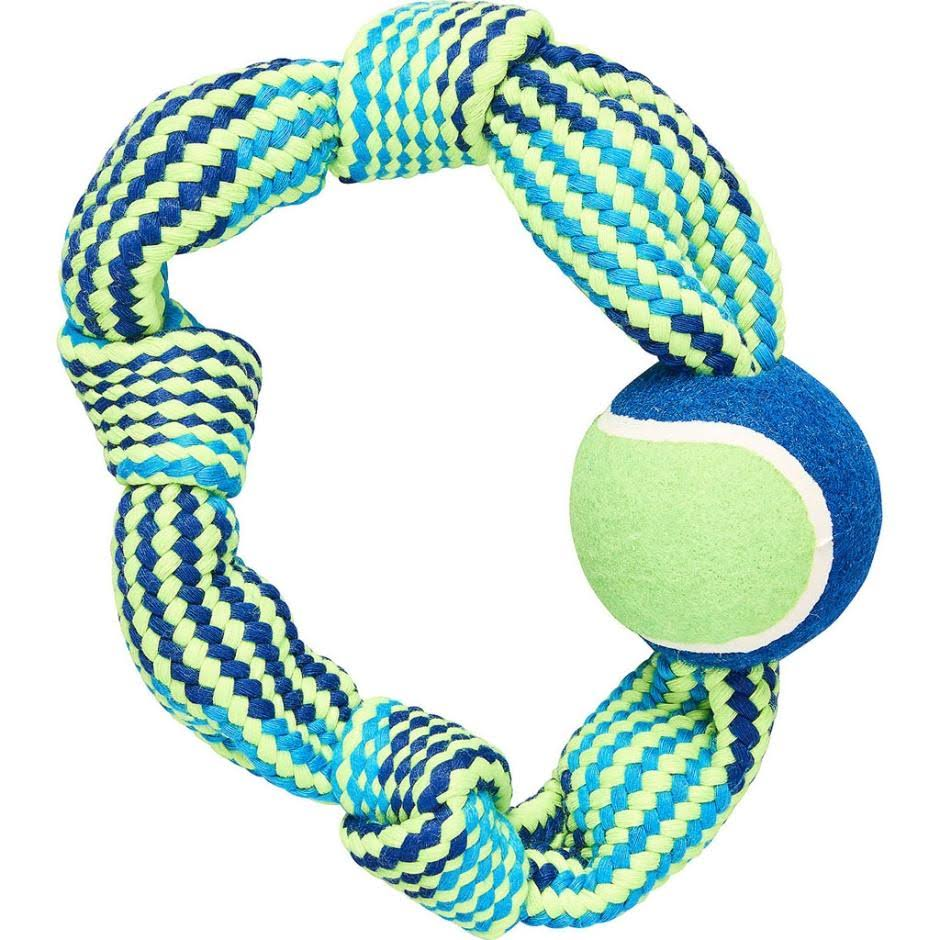 Ethical Colorful Rope Knot Ring Pack - Medium, 48pk