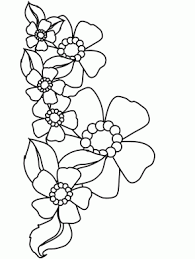 Flowers 19 Coloring Pages