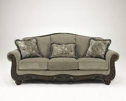 Ashley Hodan Microfiber Sofa Chaise by Sofas Furniture Davenport Ia Furnish 123 Moline