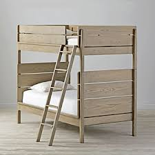 wood bunk beds the land of nod