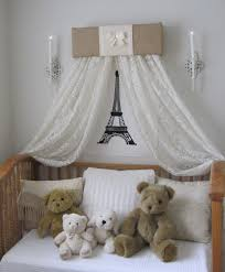 Bedroom Charming Baby Cache Cribs With Curtain Panels And by Burlap And Cream Sale Dosel Padded Bed Teester Crib Canopy Crown