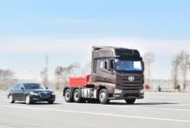 100 Truck Navigation Chinesemade Selfdriving Truck Passes Navigation Test Heralding