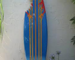 Decorative Surfboard Wall Art by Wooden Decorative Surfboard Wall Art Wall Hanging Or Beach