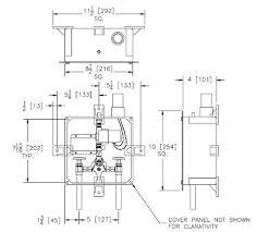 Zurn Sensor Faucet Aerator by Zurn P6900 Al Bx9 Enclosure Box For Z6900 Series Sensor Faucet