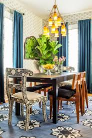 Brilliant Navy Blue Curtains With