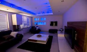 lighting ideas living room blue led ceiling recessed lighting