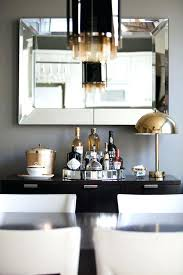 Dining Room Bar Buffet Wine Cabinet Table Mirrors Rooms