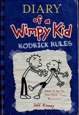 Rodrick Rules: Diary of a Wimpy Kid Book 2 - Jeff Kinney