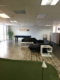 Our office space plete wi Push Innovation Live fice