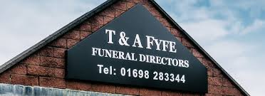Family run funeral directors in Hamilton T&A Fyfe Ltd