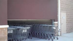 100 Walmart Carts Folding Chairs Leominster SUCCESSFUL Shopping Cart Door Entry YouTube