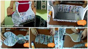 How To Make A Newspaper Rack Holder