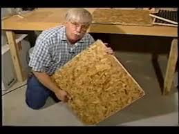 Preparing Osb Subfloor For Tile by Basement Osb Subfloor Youtube