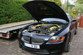 100 Dodge Truck With Viper Engine This BMW Z4 Coupe Is Glued To A V10 Autoevolution