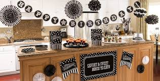 40th Birthday Decorations Canada by Black U0026 White Birthday Party Supplies Party City Canada