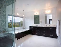 porcelain tile that looks like marble bathroom midcentury with