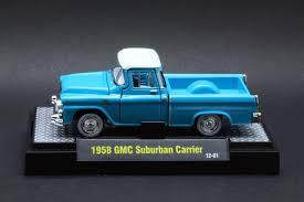 100 64 Gmc Truck Diecast 1958 Suburban Carrier S Accessories
