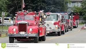 100 Old Fire Trucks Parade Editorial Stock Image Image Of Emergency