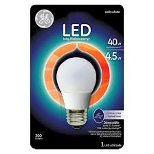 ge led 40 watt ceiling fan light bulb soft white target